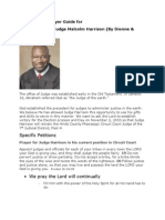 Intercessory Prayer Guide for Judge Harrison-1