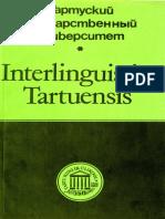 Interlinguistica Tartuensis 1