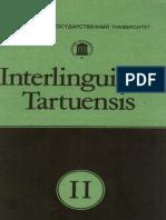 Interlinguistica Tartuensis 2