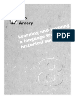 Amery, Thieberger - 1995 - Learning and Reviewing a Language From Historical Sources