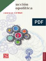 Introducción a La Biopolítica