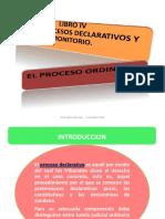 El Proceso Declarativo Ordinario2. Flavio Chiong.