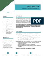 kb resume - general
