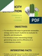 electricity generation ii grade