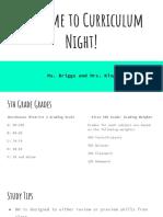 curriculum night powerpoint  1