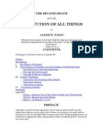 Andrew Jukes - The Second Death and the Restitution of All Things