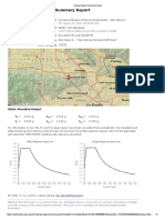 USGS Design Maps Summary Report Universal Hollywood Site Class C