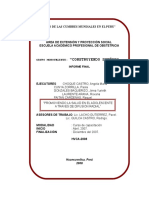 Informe Final _proyeccion Social de Obstetricia