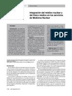 Integracion Medico Nuclear y Fisco Nuclear