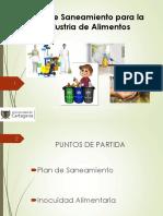 6.1. Plan de Saneamiento Para Plantas de Alimentos (1)