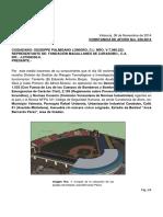 Inspeccion Tecnica Tarima Jose Bernardo Perez