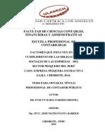 Factores Que Influyen en El Calculo de Leyes Sociales