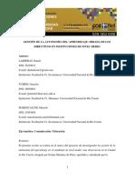 Lalasheras-_tumini-marescalchimirada de Los Directivos en Instituciones de Nivel Medio