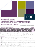 Campañas de comunicación y marketing mix sustentable