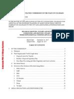 PUC order in Boulder municipalization case