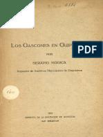 Mugica - Los Gascones en Guipuzcoa