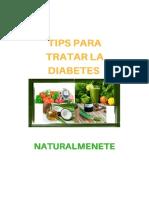 Tips Para Tratar La Diabetes Naturalmente