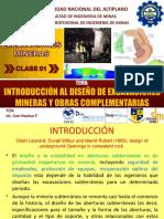 Clase 01 - Introducción Al Curso de Diseño de Excavaciones