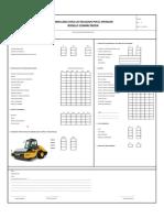 Check List Rodillo Compactador 2016
