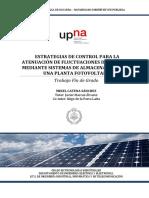 Control Rampa planta fotovoltaica