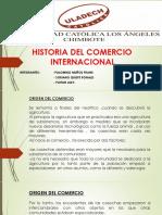 Historia Del Comercio Internacional Idci