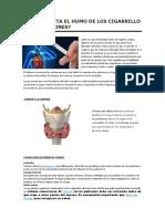 Cómo Afecta El Humo de Los Cigarrillo a Los Pulmones