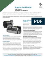 Zxp Series 9 Card Printer Product Spec Sheet