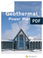 Geothermal Power Plants Brochure
