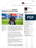 ¿Vale Neymar US$262 millones o mucho más_ _ Viva la Bolsa