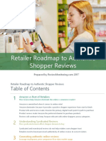 Retailer Roadmap to Authentic Online  Reviews