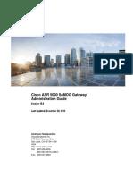Cisco ASR 5000 SaMOG Gateway Administration Guide