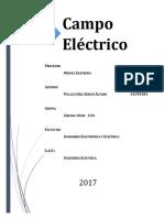Informe N°3 - Campo Eléctrico