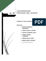Informe sobre realidad social en cajamarca