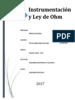 Informe N°4 - Instrumentación y Ley de Ohm