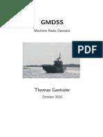 GMDSS Maritime Radio Operator