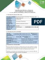 Guía de Actividades y Rubrica de Evaluación Fase 0- Reconocimiento Del Curso (1)