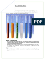 Equipos Materiales. Química SeMANA 1