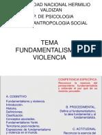 Fundamentalismo y Violencia