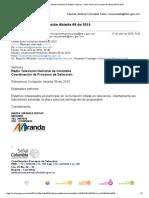 267 Observaciones Miranda Producciones
