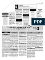 Claremont COURIER Classifieds 9.15.17