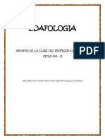 EDAFOLOGIA Compendio de Clase