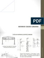 runway crane girders