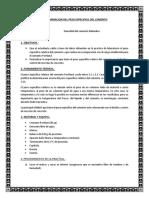 Determinacion Del Peso Especifico Del Cemento