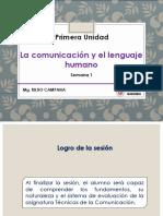 Semana 1 - Comunicación y Lenguaje Como Sistemas Simbólicos (1)