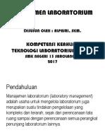 2017 - Bahan Ajar Manajemen Laboratorium