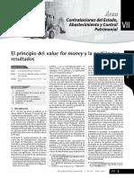 El principio de value for money y la gestion por resultados.pdf