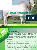 Bioclimatologia Animal