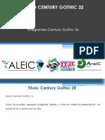 Formato Ppt Ponencias Aleic