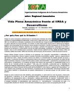 Agenda Segunda Cumbre PROGRAMA 2013