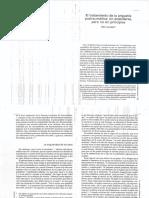 Eric Laurent - El Tratamiento de La Angustia Postraumática, Sin Estándares Pero No Sin Principios